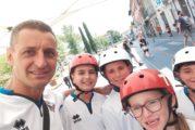 I giovanissimi atleti della Diavoli Verde Rosa in evidenza ad Altopascio