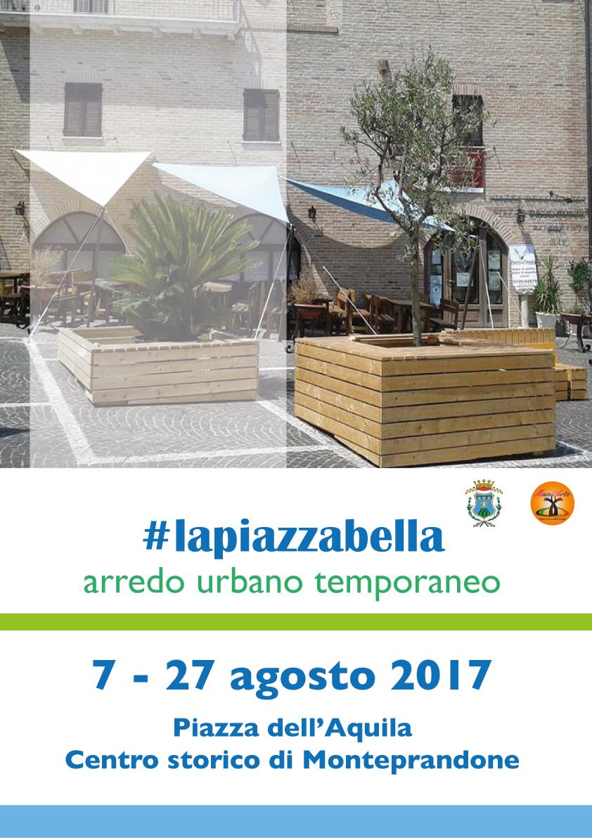 A monteprandone torna lapiazzabella cambia l arredo for Arredo urbano ancona