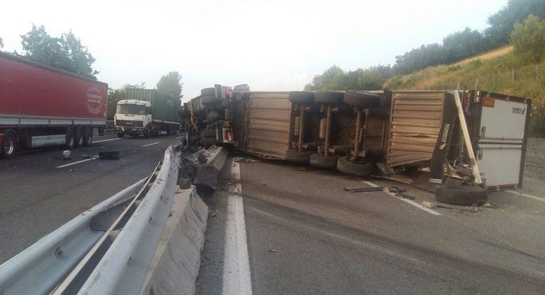 Incidente in autostrada A14: code tra Grottammare, San Benedetto e Val Vibrata