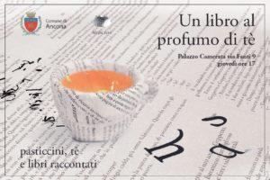 Un libro al profumo di tè, Laura Coppari al Museo della Città di Ancona