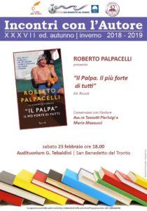 Il Palpa, il più forte di tutti all' auditorium Tebaldini di San Benedetto