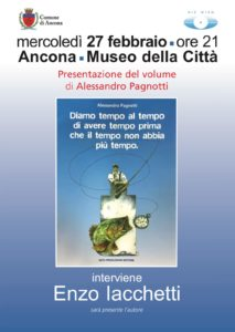 Ancona, al Museo della Città Enzo Iachetti presenta con Alessandro Pagnotti il libro che sostiene la ricerca sulla sindrome di Down