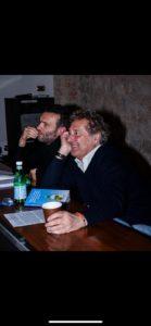 Alessandro Pagnotti ed Enzo Iachetti ospiti nel salotto culturale di Casa Sanremo