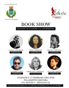 Senigallia: Book Show con cinque scrittori della provincia di Ancona, organizza l' Associazione Culturale Euterpe