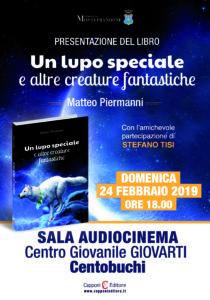 Un lupo speciale e altre creature fantastiche, otto racconti fantastici del giovanissimo Matteo Piermanni