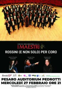 Pesaro continua a festeggiare il non compleanno di Gioachino Rossini