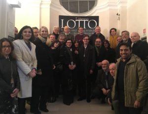 Macerata, trenta studiosi da tutto il mondo in visita alla mostra su Lotto