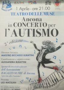 Ancona in concerto per l'autismo al Teatro delle Muse