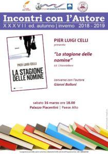 Pierluigi Celli con La Stagione delle Nomine a Palazzo Piacentini di San Benedetto