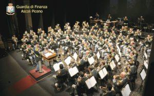 La Banda Musicale della Guardia di Finanza al teatro Ventidio Basso di Ascoli Piceno