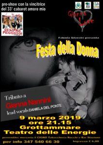 Il Teatro delle Energie di Grottammare omaggia le donne: in scena il tributo a Gianna Nannini