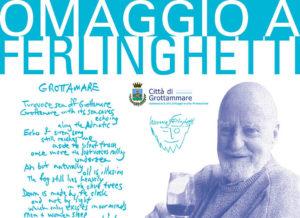Lawrence Ferlinghetti e il mare turchese di Grottammare