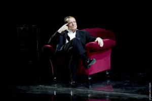 Massimo Ranieri ne Il gabbiano di Anton  Čechov al Teatro Lauro Rossi di Macerata
