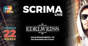 Il concerto di Scrima apre la collaborazione tra l'associazione Prima Persona Plurale e l' Edelweiss