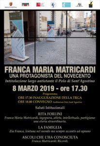 Ascoli Piceno, ultimo incontro del corso di formazione Letteratura al femminile