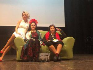 Le Pazzie d'amore di Marylin Monroe, Alda Merini e Frida Kahlo sul palco del teatro comunale di Porto San Giorgio