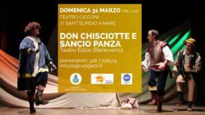 Sant' Elpidio a Mare Don Chisciotte ev Sancio Panza chiude la stagione teatrale per ragazzi al Cicconi