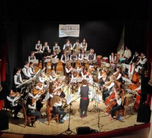 Mosaico Musicale, la più giovane orchestra della Provincia di Pesaro Urbino in concerto a Cagli