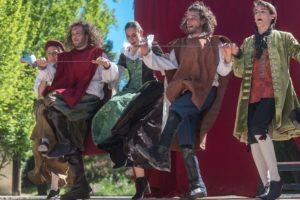 I Tre Moschettieri da Versailles a Cagli: una due giorni di teatro comico e satirico tra Francia e Italia
