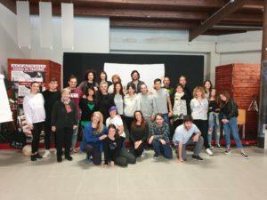 Accademia di teatro e cinema: Stage formativo del Maestro Michele Monetta, studenti entusiasti!