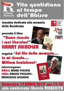 Roma ricorda i suoi liberatori di Harry Shindler alla libreria Rinascita di Ascoli Piceno