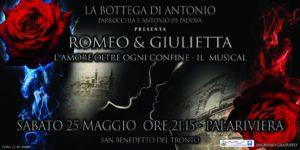 San Benedetto: Romeo e Giulietta, L' amore oltre ogni Confine, il nuovo musical della Bottega Di Antonio