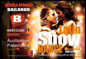 Latin Show Dance al PalaRiviera di San Benedetto del Tronto