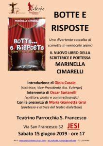 Botte e risposte il nuovo libro di Marinella Cimarelli