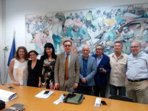 Giletti, Iachetti, Militello, Giordano, Carofiglio a San Benedetto per la trentottesima edizone di Incontri con l'Autore