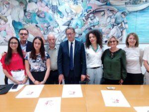 I finalisti del Premio Strega 2019 alla Palazzina Azzurra di San Benedetto