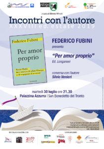 Per amor proprio di Federico Fubini alla Palazzina Azzurra di San Benedetto