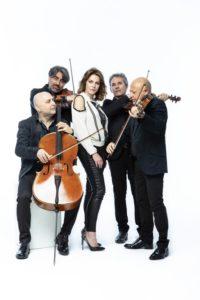 San Benedetto, Nel cuore, nell'anima: Claudia Gerini & Solis String Quartetomaggiano Franco Califano