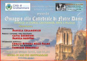 Un omaggio alla Cattedrale di Notre Dame alla chiesa di San Pio di Grottammare