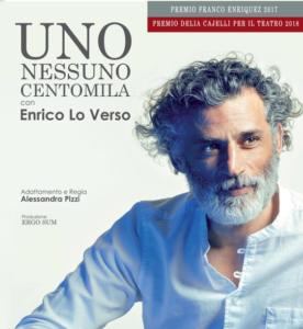 Porto San Giorgio: Uno nessuno centomila di Pirandello con Enrico Lo Verso a Rocca Tiepolo