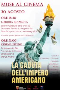 Ascoli Piceno, sesto ed ultimo appuntamento con Muse al Cinema
