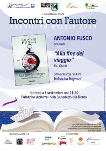 Alla fine del viaggio di Antonio Fusco alla Palazzina Azzurra di San Benedetto