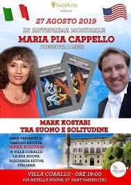 Anteprima mondiale al Villa Corallo di Sant' Omero, viene presentato il libro Mark Kostabi tra suono e solitudine