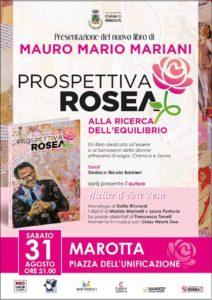 Marotta si tinge di rosa per la presentazione spettacolo del libro Prospettiva Rosea