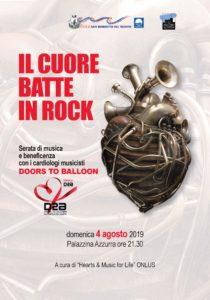 Doors to Balloon, la band dei medici cardiologi alla Palazzina Azzurra di San Benedetto