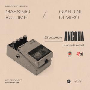 Massimo Volume e i Giardini di Mirò insieme in concerto domenica prossima alla Mole Vanvitelliana di Ancona