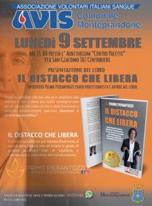 Monteprandone: tutto esaurito per la presentazione del libro Il Distacco che Libera di Primo Pierantozzi