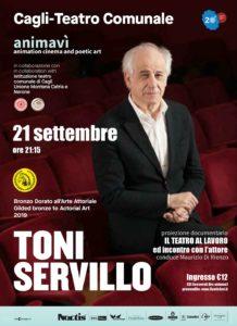 Animavì Festival premia Toni Servillo con il Bronzo Dorato all'arte della recitazione