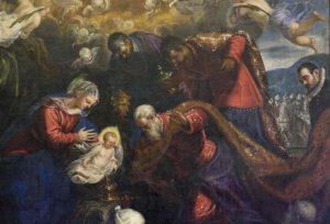 Macerata: a Palazzo Buonaccorsi la presentazione del restauro dell'Adorazione dei Magi del Tintoretto della Chiesa delle Vergini