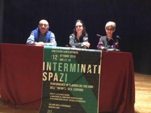 San Benedetto: Paola Chiama e Piergiorgio Ciní al teatro San Filippo Neri per l'Infinito di Leopardi