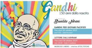 Grottammare ricorda il Mahatma Gandhi nei 150 anni dalla sua nascita