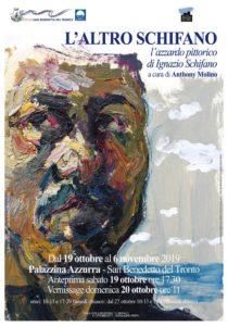 Ignazio Schifano espone alla Palazzina Azzurra di San Benedetto