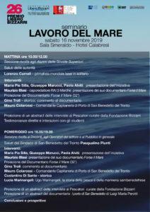 Il lavoro del mare, seminario alla sala Smeraldo dell' hotel Calabresi di San Benedetto