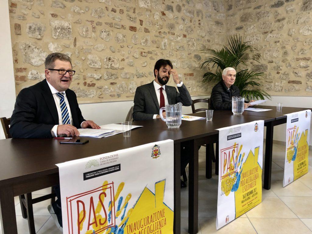 Ascoli Piceno, inaugurato il Polo Accoglienza e Solidarietà ⋆ TM notizie - ultime notizie di OGGI, cronaca, sport - TM notizie