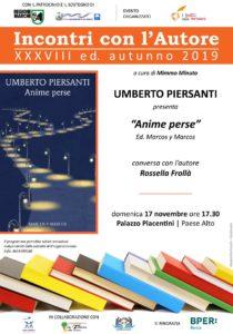 San Benedetto: Anime perse di Umberto Pierasanti alla Casa della Poesia di Palazzo Piacentini