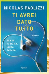 """Aperitivo con un libro al Centro Commerciale Città delle Stelle: Nicolas Paolizzi presenta il suo romanzo """"Ti avrei dato tutto""""."""